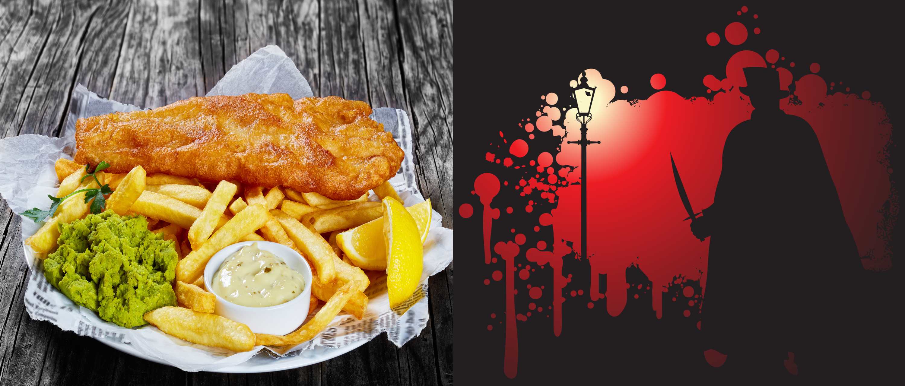 Jack The Ripper Tour + East End Fish & Chips £25